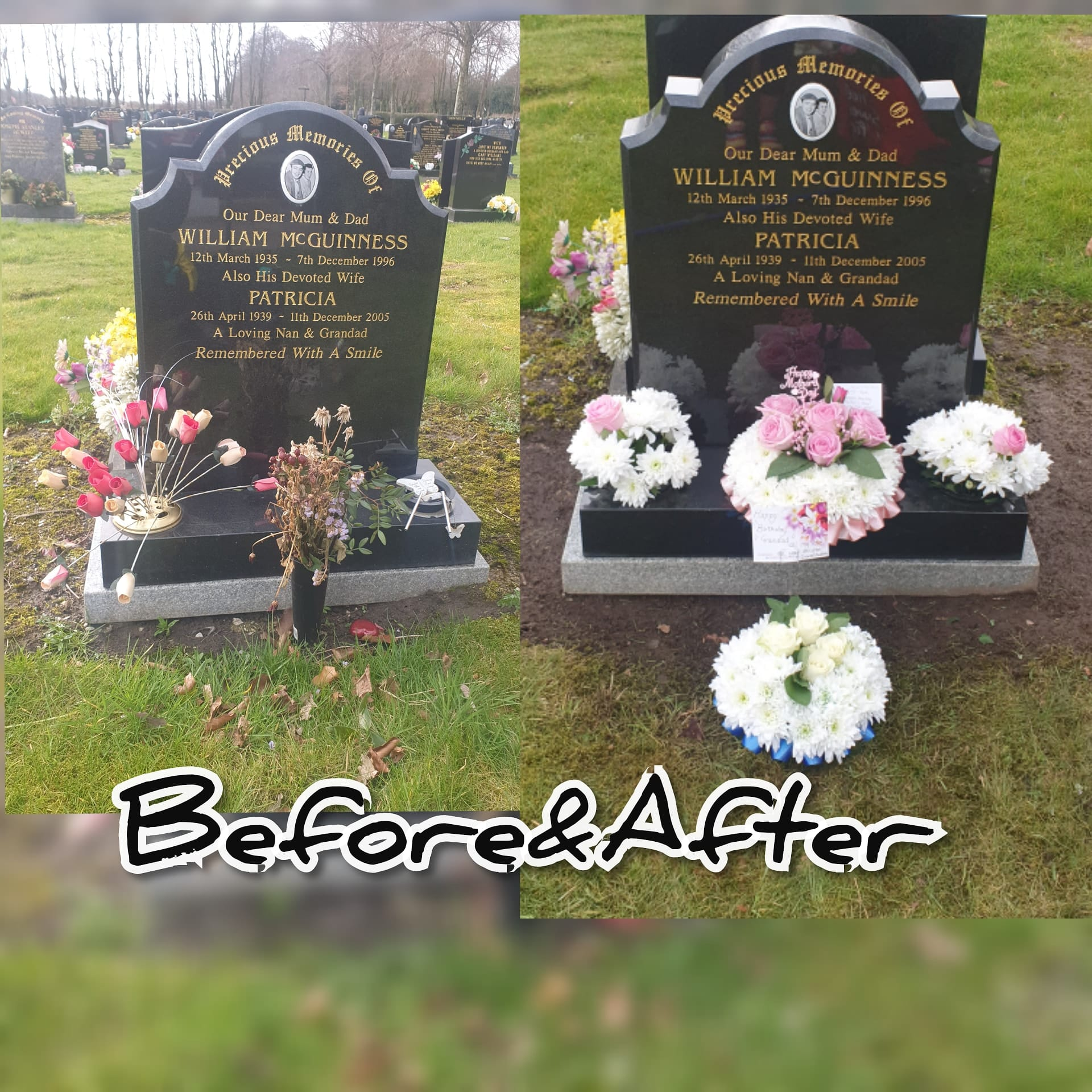 Grave Care & Headstone Cleaning Liverpool