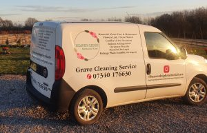 Grave cleaning service
